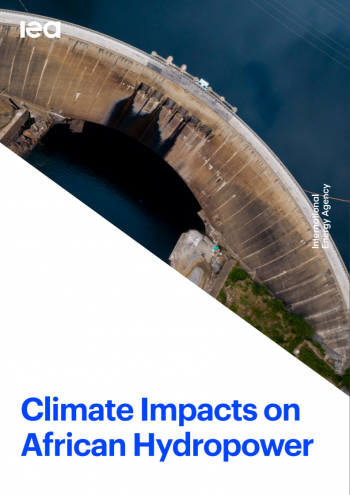 Climate impact on African hydropower